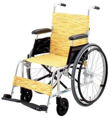 アルミ自走用車いす 軽量型 NA-L8 hkz 介護用品