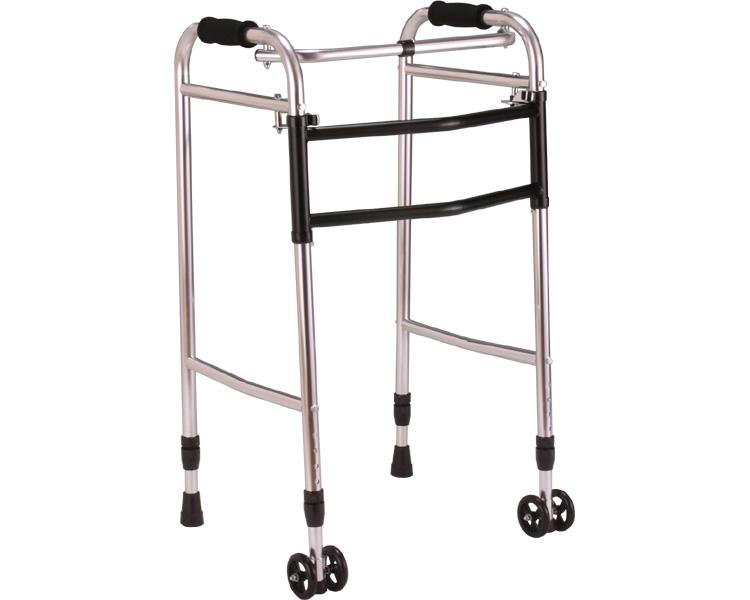 折りたたみ型歩行器 介護 ウォーカー AL-117 hkz リハビリ 歩行補助 高齢者用