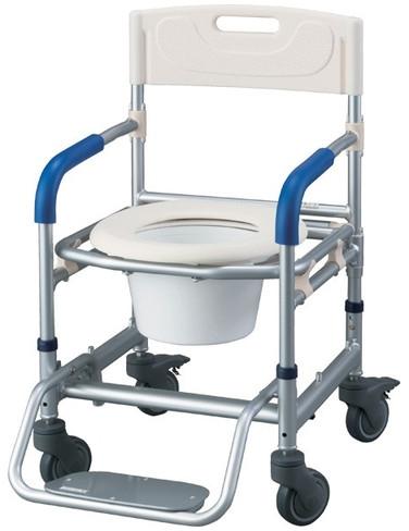 シャワーキャリー すま~いるポータブルトイレ キャリータイプ FRCT 介護用品
