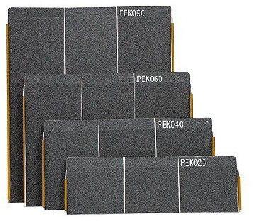 ポータブルスロープ エッジ付1枚板タイプ PEK040 40cmイーストアイ 介護用品
