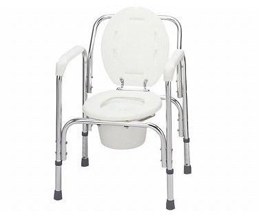 アルミ製トイレチェア T-8203 ポータブルトイレ