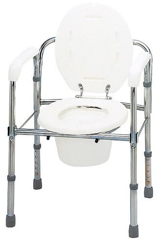 トイレチェア 折りたたみタイプ T-8303 ポータブルトイレ