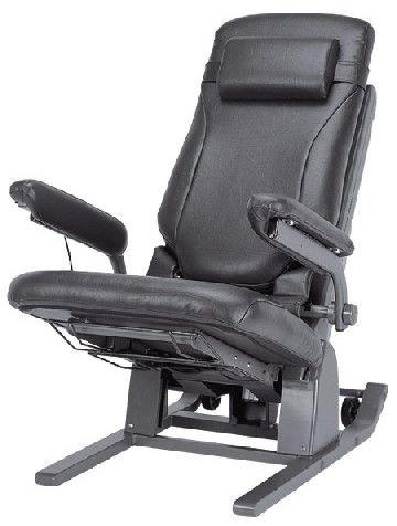 電動昇降座イス 独立宣言リクライニング DSREC 電動昇降座椅子 立ち上がり補助いす