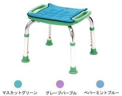 シャワーチェア 介護用品 風呂椅子ソフトクッションミニDX 背なし T-6305-5