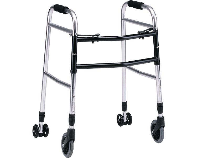 折りたたみ型歩行器 介護 ウォーカー AL-107 hkz リハビリ 歩行補助 高齢者用
