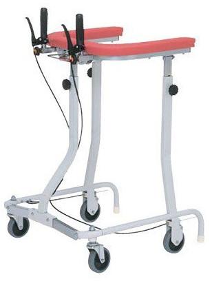 介護用品 折りたたみ式歩行車 TY157RHB-SL 連動ブレーキ付 歩行器 リハビリ 歩行補助 高齢者用 hkz