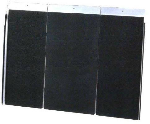 アルミシステムスロープ 基本セット90cmタイプ PVX90-3 介護用品