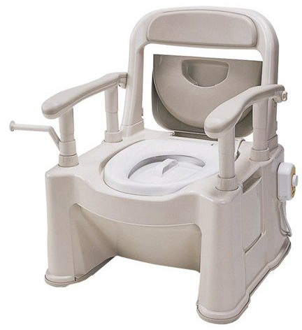 ポータブルトイレ座楽 SPあたたかタイプ VALAPTSP 介護用品