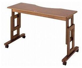 ベッドサイドテーブル サポートテーブルD ベッド用 高さ調節65~80cm キンタロー 介護用品 介護用
