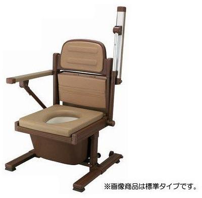 介護用品 排泄介護 あらえ~る2 標準タイプ 8030 あらえ~るII ウチヱ ポータブルトイレ