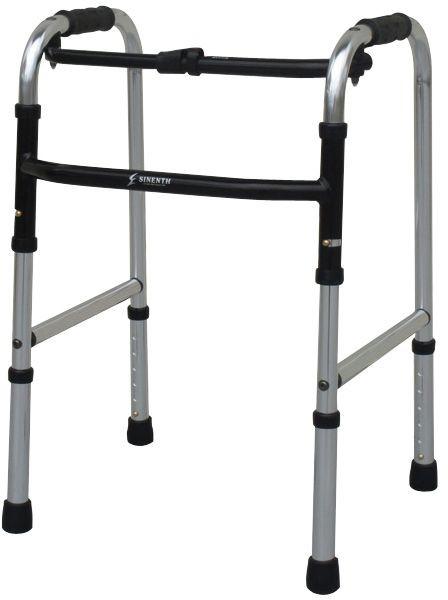 歩行器 スリムフレームウォーカー固定型 WFS-4968 介護用品 リハビリ 歩行補助 高齢者用 hkz