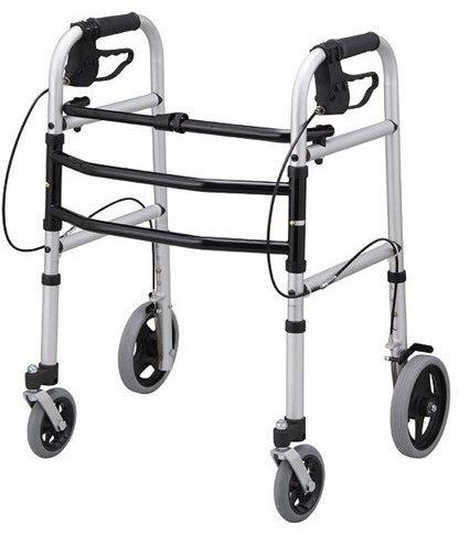 歩行器 介護用品 安心ウォーカー T-5700 リハビリ 歩行補助 高齢者用 室内用 折りたたみ歩行器 持ち運び hkz