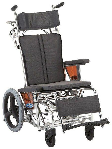 ティルト&リクライニング 介助用車いす NAH-W1 hkz 介護用品