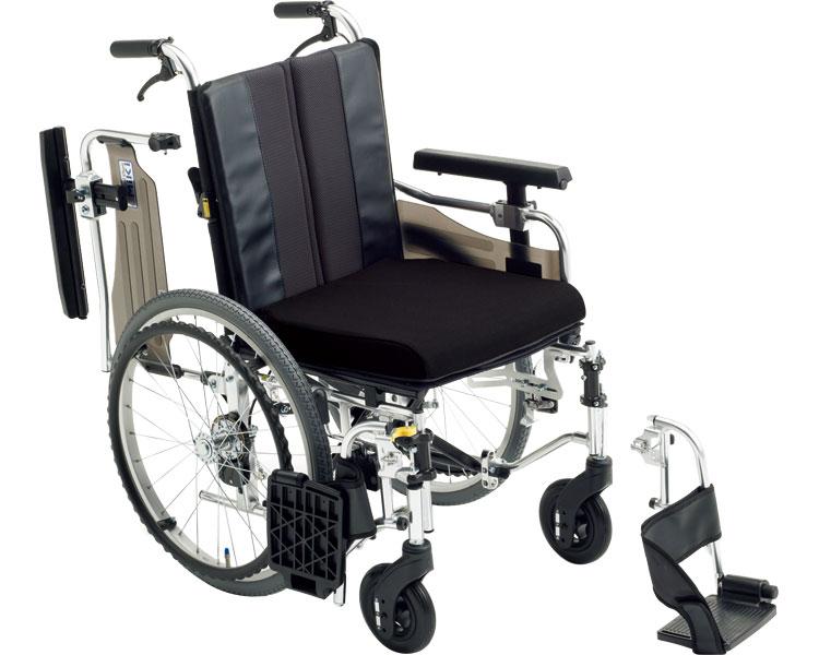 アルミ自走式車いす MM-Fit Hi 20 ミキ 介護用品 hkz