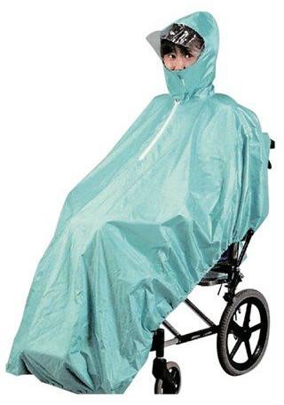介護用品 車いす用レインコート Lサイズ 車椅子