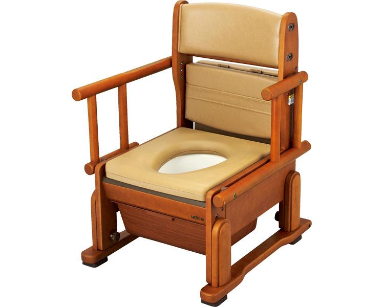 さわやかチェアCH ひじ掛け自在タイプ 8240 ポータブルトイレ 介護用品 排泄介護