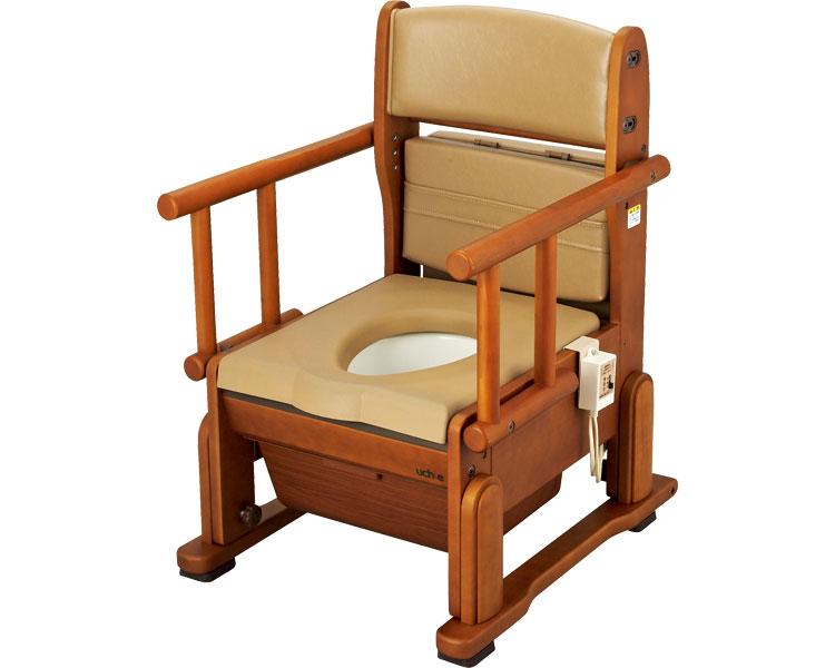 さわやかチェアCH ホット便座 ひじ掛け自在タイプ 8242 ポータブルトイレ 介護用品 排泄介護