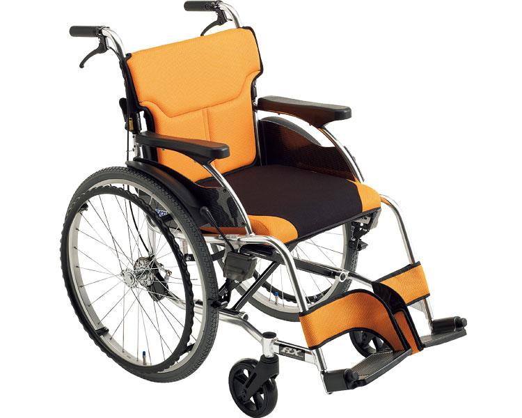アルミ自走車いす RX-1 ミキ 介護用品 hkz