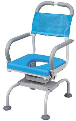 シャワーチェア ベンチシャワー 介護用品 風呂椅子 くるくるベンチD O型穴有りシート KRU-315 座面回転