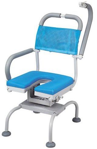 シャワーチェア ベンチシャワー 介護用品 風呂椅子 くるくるベンチD U型シート KRU-317 座面回転