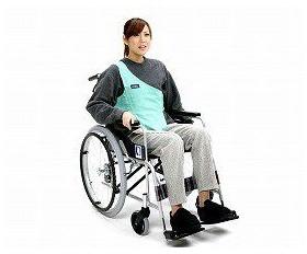 車いす用ワンタッチベルト キーパー シングル 02036630 車椅子 介護用品