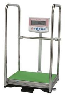 手すり付きデジタル体重計 DP-7101PW-T