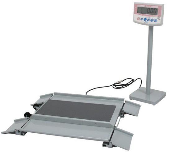 車いす用デジタル体重計 DP-7101PW-K 車椅子用デジタル体重計 車イス用