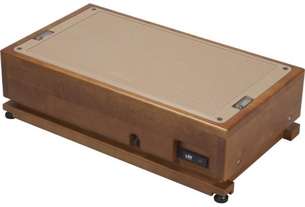 介護用品 高さ調節タイプ LED-60-UP LED滑り止め玄関台 幅60cm
