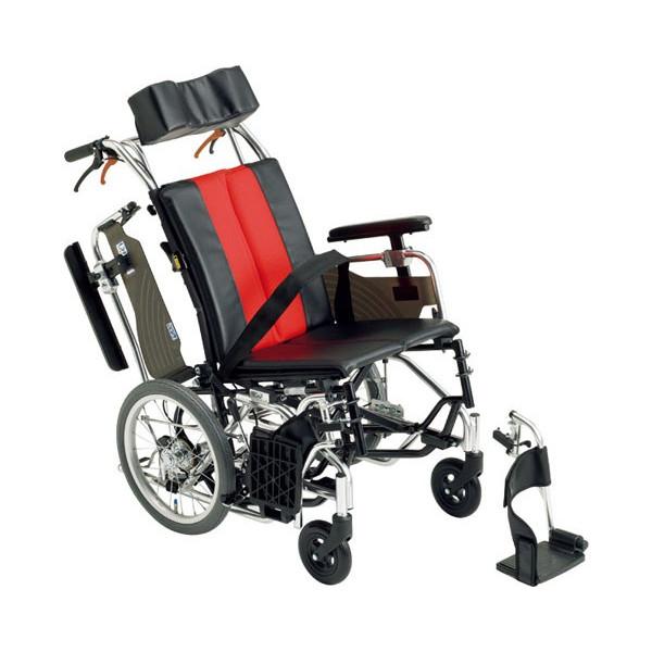 ティルト車椅子 介助用 ふみ子ちゃん2 MX-Ti DX 座幅40cm 介助用車いす hkz