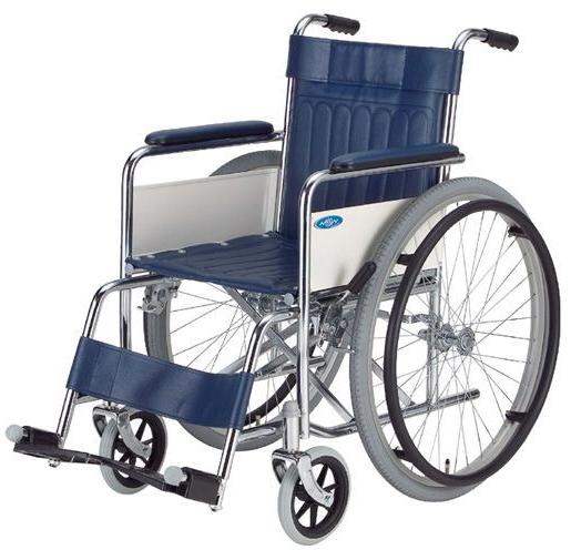 スチール製標準型車いす 自走用 ND-1 車椅子 介護用品 hkz