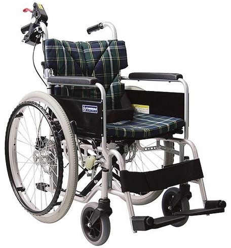 自走・介助兼用 忘れ騎士2(自動ブレーキシステム付車いす) 車椅子 介護用品 hkz