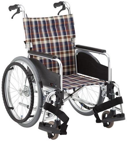 自走用車椅子 アルミ製低床タイプ車いす AR-511B hkz 介護用品