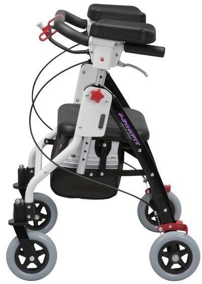歩行器 アームフィット室内用 肘置き付 AR-428E ユーバ産業 介護用品 hkz