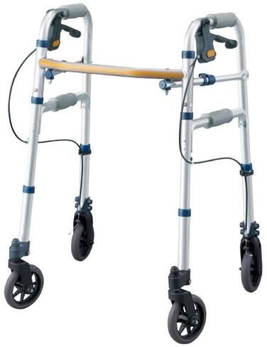 セーフティーアーム Vタイプウォーカー ミニ SAV 歩行器 リハビリ 歩行補助 高齢者用 hkz 介護用品