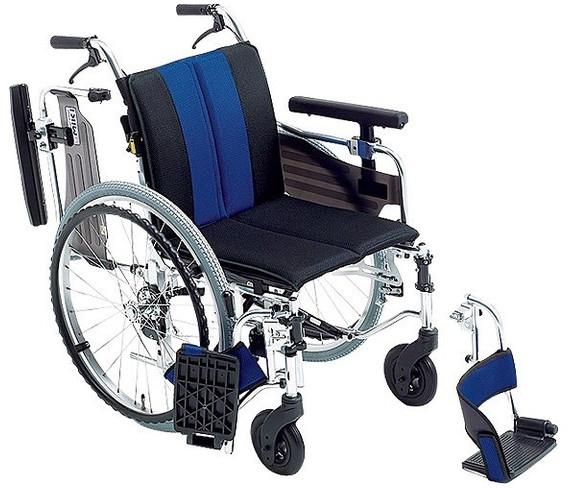 自走用車いす ミューシリーズ MYU4-22 オプションシート仕様 hkz 介護用品