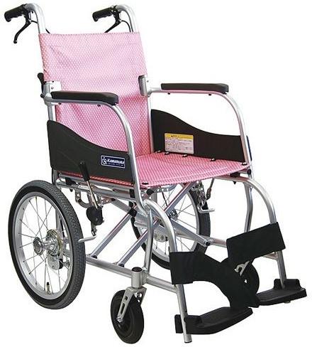 介助用車いす ふわりす+ (プラス) KFP16-40SB 座幅40cm 車椅子 介護用品 hkz