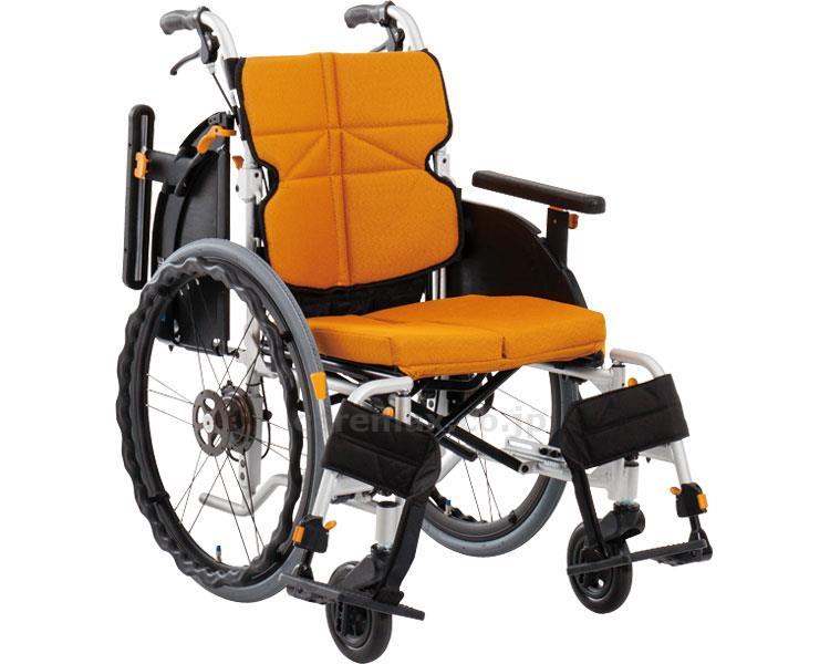 ネクストコア・アジャスト 自走用車いす NEXT-51B 座幅40cm 車椅子 介護用品 hkz