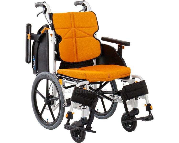 ネクストコア・アジャスト 介助用車いす NEXT-61B 座幅40cm 車椅子 介護用品 hkz