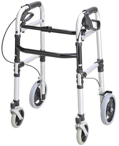 歩行器 介護用品 安心ウォーカー ホームタイプ コンパクトタイプ リハビリ 歩行補助 高齢者用 hkz