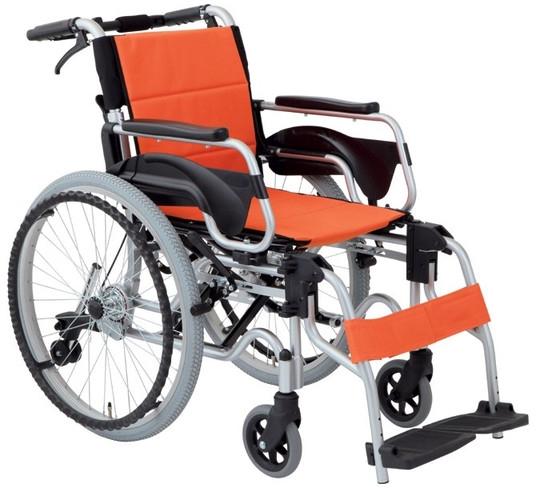 多機能車いす デラックスII 自走用 HTB-22DX 車椅子 介護用品 hkz