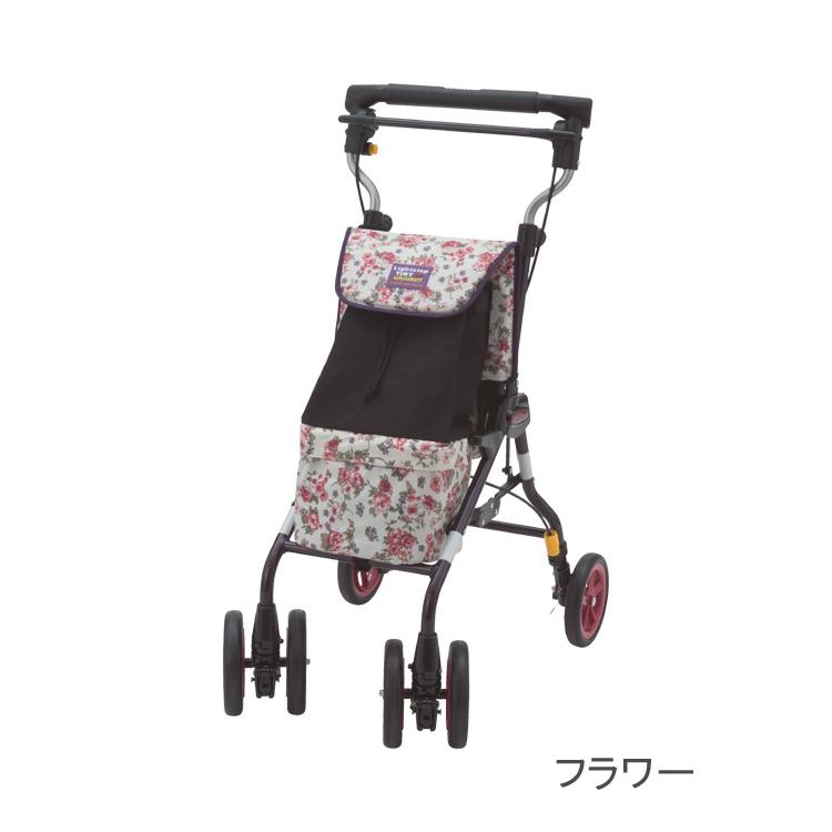 ライトステップタイニーW・UKIUKI(ウキウキ)シルバーカー 介護用品
