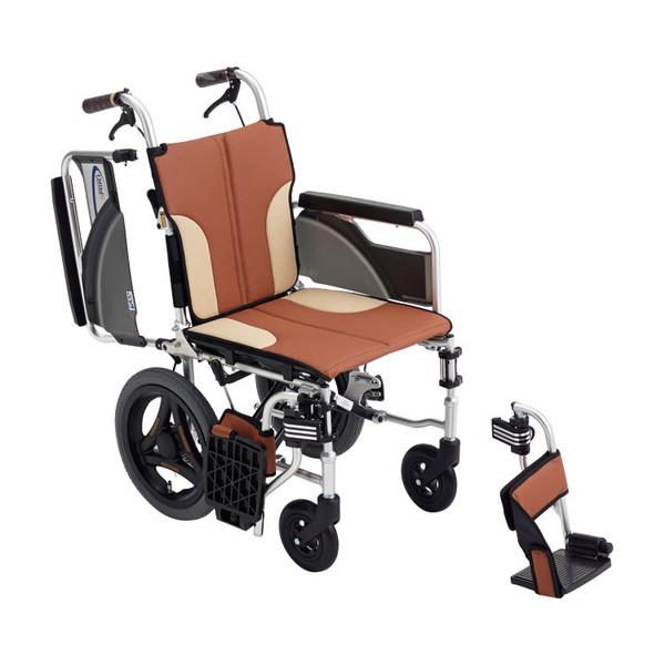 車椅子 アルミ介助車いす スキット SKT-200 hkz 介護用品 福祉用具