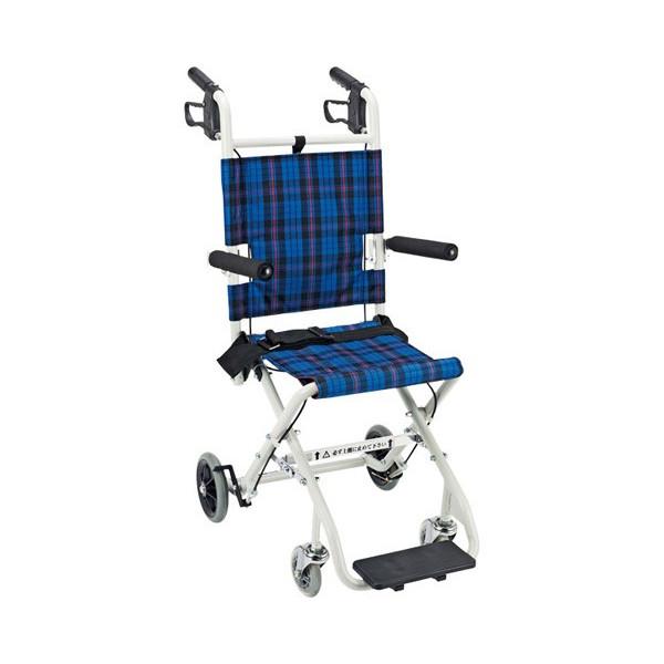 携帯車いす のっぴープラス コンパクト車椅子 携帯車いす おりたたみ式 介護用品