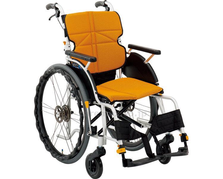 ネクストコア グラン 自走用車いす NEXT-12B 座幅42cm 車椅子 介護用品 hkz