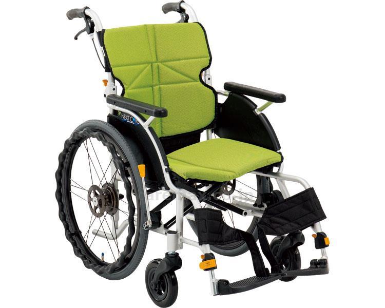 ネクストコア プチ 自走用車いす NEXT-10B 座幅40cm 車椅子 介護用品 hkz