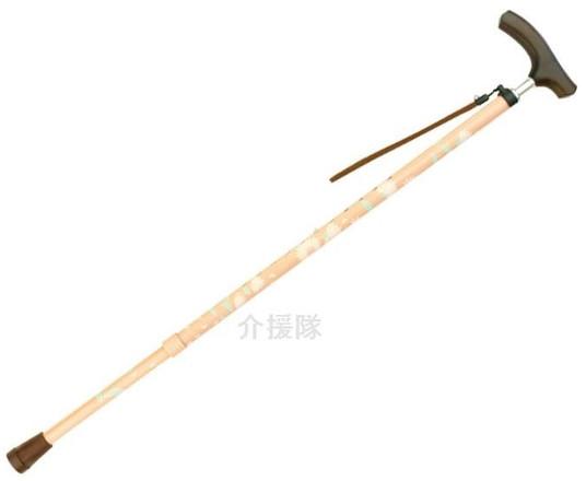 テイコブ 伸縮マグネシウムステッキ細首 伸縮杖 CAE02 介護用品