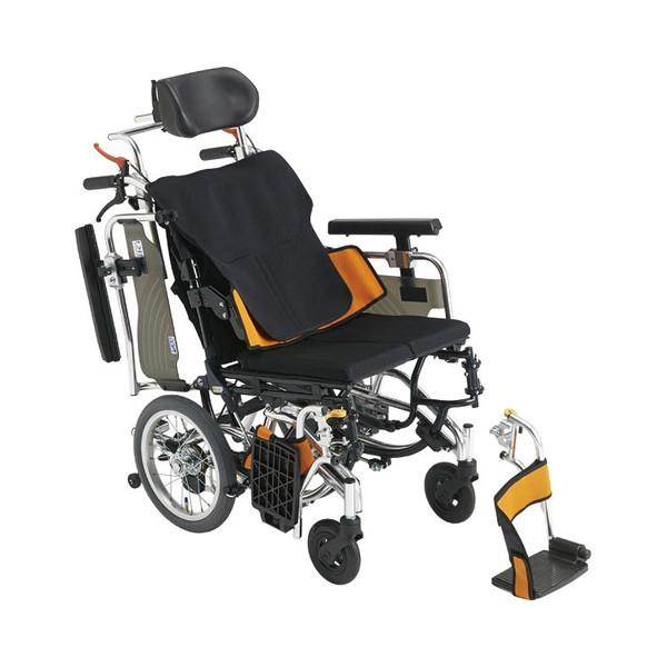 車椅子 アルミ介助車いす スキット SKT_Plus ABS オレンジ hkz 介護用品 福祉用具