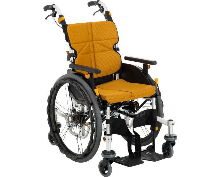 ネクストコア・くるり 介助用車いす NEXT-71B 座幅40cm 車椅子 介護用品 hkz