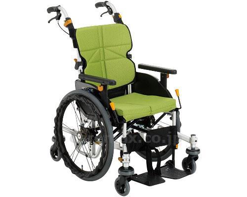 ネクストコア・くるり 自走用車いす NEXT-70B 低床タイプ 座幅40cm 車椅子 介護用品 hkz