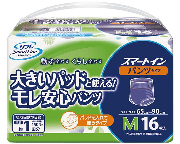 スマートイン パンツタイプ M / 17171 16枚×8袋 1ケース (ケース販売)